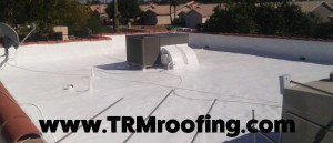 Foam Roofing Repair Services by TRM Roofing